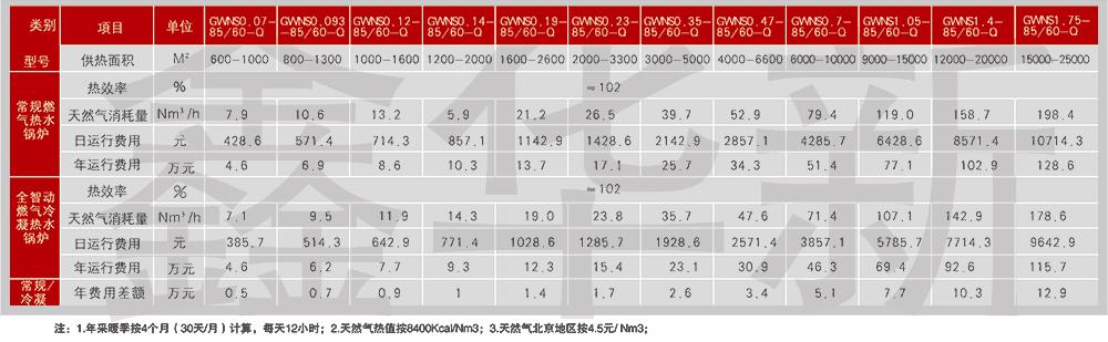 北京 鑫华新 1吨全智动燃气冷凝热水锅炉