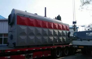 鑫华新6吨数控链条锅炉在昌吉落户