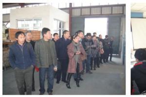 河南安阳县政府、鑫汇矿业十余家单位来公司的参观